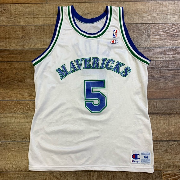 9e8b21cbf9e Champion Shirts | Vintage Jason Kidd Dallas Mavericks Jersey 44 ...